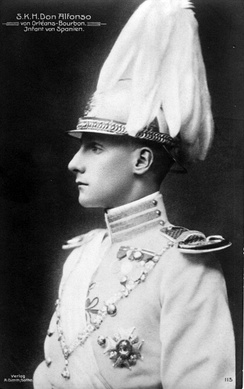 The Duke of Galliera in contemporary uniform of the Order, ca. 1910
