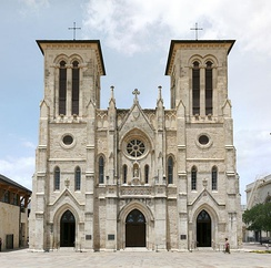 San Fernando Cathedral is the see of the Roman Catholic Archdiocese of San Antonio