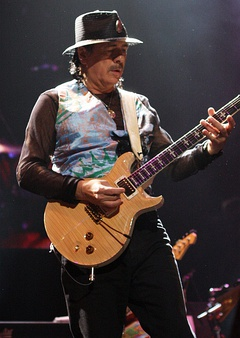Santana performing in March 2011