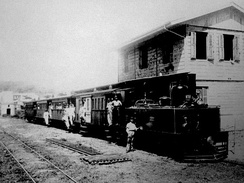 19th century train station in Yauco