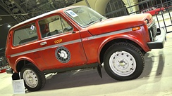 Lada Niva used by the Soviet Antarctic Expedition