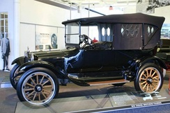 The durability of the 1915 Dodge Brothers Model 30-35 touring car won renown for the new automaker following its use in the 1916 Pancho Villa Expedition[42]