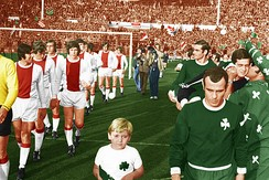 Against Panathinaikos in the 1971 European Cup Final