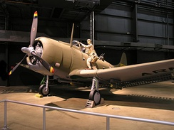 A-24 at the National Museum of the United States Air Force