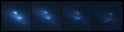 Asteroid P2013 R3 breaks apart[12]