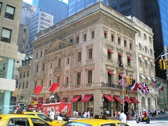 Cartier is in the former Morton F. Plant House on Fifth Avenue in New York