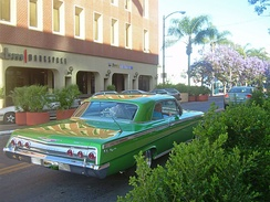 Early '60s Chevrolet Impala lowrider in San Jose, CA