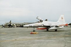 F-5A, now retired from the Philippine Air Force