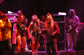 George Clinton and Parliament Funkadelic in 2006