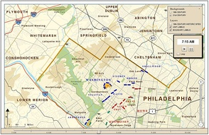 Battle of Germantown Snapshot
