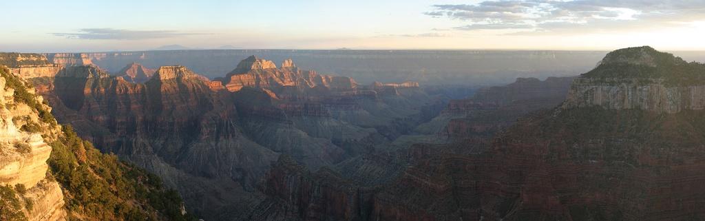 Панорама Большого каньона с северной стороны