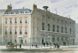The Hanover Square Rooms, principal venue of Haydn's performances in London