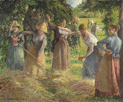 Hay Harvest at Éragny, 1901. National Gallery of Canada, Ottawa