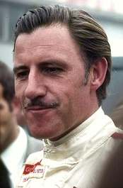 Graham Hill (pictured in 1969) won his 2nd and last Drivers' Championship, driving for Lotus