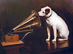 His Master's Voice, 1898 by Francis Barraud