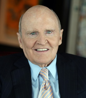 Jack Welch an American business executive, author, and chemical engineer. He was chairman and CEO of General Electric between 1981 and 2001. During his tenure at GE, the company's value rose 4,000%.