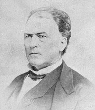 Jesse D. Bright, Lieutenant Governor and US Senator from Indiana; he was exiled from the United States during the American Civil War