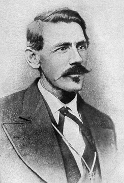 Portrait of John Simpson Chisum from The Story of the Outlaw[1]