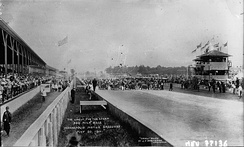 1911 Indianapolis 500, the inaugural running of the race.