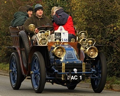 Mors 10HP Tonneau from 1901 owner The Royal Automobile Club