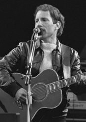 Paul Simon, seen here in 1982, underwent a personal and commercial downturn in the early 1980s.