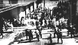 Police open fire upon unarmed Nationalists in the Ponce massacre of 1937