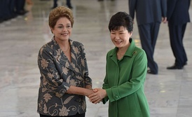 Brazilian president Dilma Rousseff and South Korean president Park Geun-hye were both impeached in 2016 and removed from office.