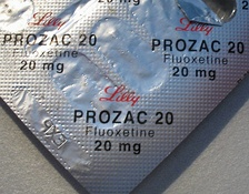 Fluoxetine hydrochloride, branded by Lilly as Prozac, is an antidepressant drug prescribed by physicians, psychiatrists, and some nurses.