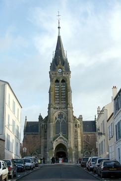 The church in Rambouillet