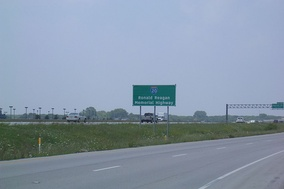 On February 16, 2006, I-20 in Arlington was dedicated as 'Ronald Reagan Memorial Highway' (signs are visible at mile markers 447 and 452)