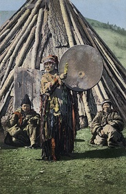 The Altai consider shamanism a feminine role.[82]