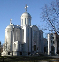 St. Nicholas Cathedral in Washington, D.C., is the primary cathedral of the Orthodox Church in America.