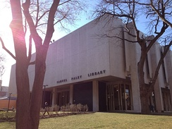 Samuel L. Paley library at Temple University, named for William S. Paley's father