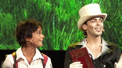 Vanessa Cailhol and Nuno Resende in Pinocchio, le spectacle musical (2013)
