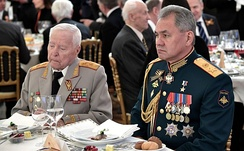 Shoigu at the Victory Day reception in the Kremlin, May 2017.