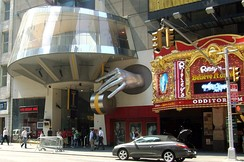 Madame Tussauds Wax Museum and Ripley's Believe It or Not! Odditorium are two of the newer attractions on the redeveloped 42nd Street.