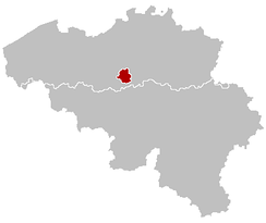 The Brussels Capital Region in Belgium.