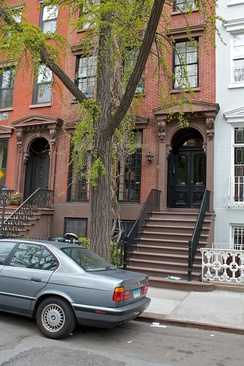 The brownstone used in The Cosby Show