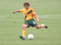 Cobi Jones, who played for the club from their inaugural season until his retirement in 2007