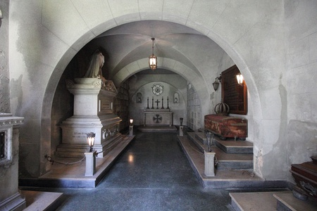 Mausoleum at the Convent of Santo Antônio containing the tombs of some princes and princesses of the Empire of Brazil