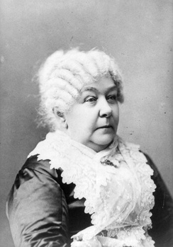 Elizabeth Cady Stanton in her later years