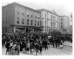 Emancipation Day celebration in Richmond, Virginia in 1905
