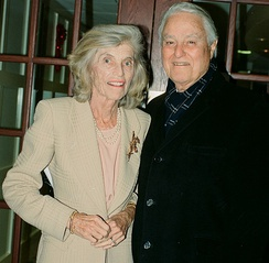 Eunice and Sargent Shriver in 1999