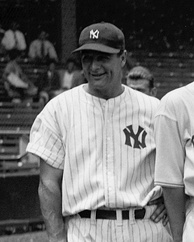 Lou Gehrig was the first Yankees player to have his number retired, in 1939, which was the same year that he retired from baseball due to a crippling disease.