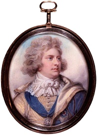 Miniature by Richard Cosway, 1792