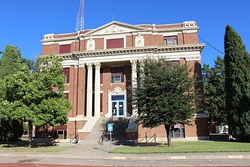 The Hall County Courthouse in Memphis