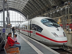 ICE3 at Frankfurt Central Station
