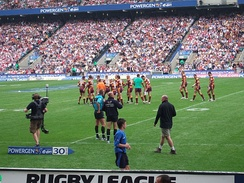 Huddersfield in the 2006 Challenge Cup Final