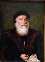 The Portuguese explorer Vasco Da Gama unlocked the sea route from Europe to India (1497–1499).
