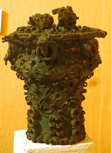 Ceremonial Igbo pot from 9th-century Igbo-Ukwu.